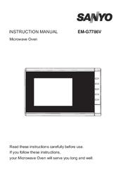 sanyo em g4777s manual