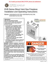 vermont castings 400dvbnsc7 manuals vermont castings 400dvbnsc7 installation and operating instructions manual