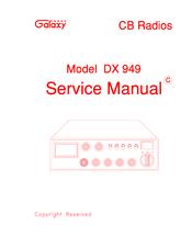 GALAXY DX 949 SERVICE MANUAL Pdf Download.