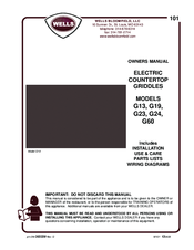 Wells G24 Manuals on gmc fuse box diagrams, smart car diagrams, electronic circuit diagrams, engine diagrams, motor diagrams, friendship bracelet diagrams, snatch block diagrams, honda motorcycle repair diagrams, troubleshooting diagrams, lighting diagrams, led circuit diagrams, hvac diagrams, transformer diagrams, pinout diagrams, internet of things diagrams, electrical diagrams, series and parallel circuits diagrams, switch diagrams, sincgars radio configurations diagrams, battery diagrams,