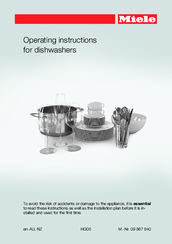 Miele G 6300 Operating Instructions Manual Pdf Download