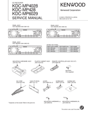 kenwood kdc mp4028 manuals rh manualslib com Kenwood KDC Bt648u Kenwood KDC X997