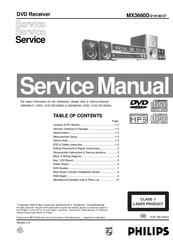 philips mx3660d 21h 30 37 manuals rh manualslib com Philips Instruction Manuals Philips TV User Manual
