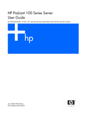 HP ProLiant ML150 G2 User Manual