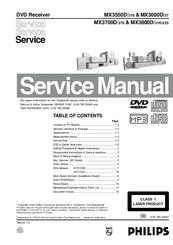 philips mx3700d 37s manuals rh manualslib com Philips Instruction Manuals Philips Universal Remote Code Manual