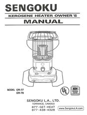 sengoku or 77 manuals rh manualslib com HeatMate Kerosene Heaters sengoku kerosene heater wicks