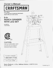 Craftsman 152.241230 Owner's Manual