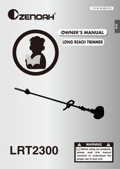 Zenoah LRT2300 Owner's Manual