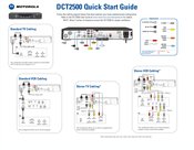 Motorola DCT2500 Quick Start Manual