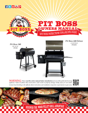 PIT BOSS PB340 OWNER'S MANUAL Pdf Download