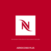 Nespresso Aeroccino + Instructions Manual