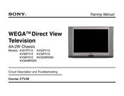sony kv 27fs100 trinitron color tv service manual download