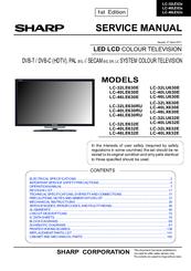 Sharp lc32le700un | lc-32le700un operation manual page 42.