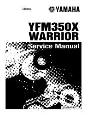 1999 yamaha warrior 350 service repair manual 99