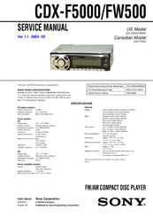 941580_cdxf5000_product sony cdx f5000 fm am compact disc player manuals sony cdx-f5500 wiring diagram at mifinder.co