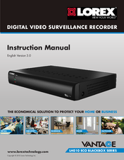 lorex vantage lh010 eco blackbox series manuals rh manualslib com Lorex ECO 8 Box Lorex 16 Channel DVR Eco 140