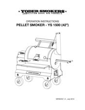 Yoder Smokers YS 1500 Manuals