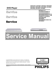 Philips DVP3020K/98 Service Manual