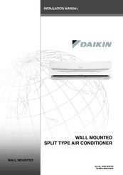 daikin air conditioner installation manual