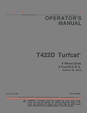 Jacobsen T422D Turfcat Manuals