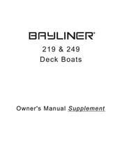 bayliner 249 manuals rh manualslib com 1999 Bayliner 2452 Interior 1999 Bayliner 2452 Interior