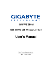 GIGABYTE GN-WBZB-M WINDOWS 10 DRIVER DOWNLOAD