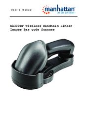 Wireless Long Range CCD Barcode Scanner w// 300mm Scan Depth Manhattan 460873