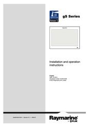 Raymarine gS125 inverted Manuals