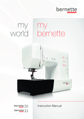 bernina bernette 20 instruction manual pdf download rh manualslib com User Training Example User Guide