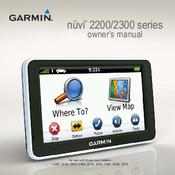 garmin nuvi 2250 manuals rh manualslib com garmin nuvi 255w operating manual garmin nuvi 255w owners manual