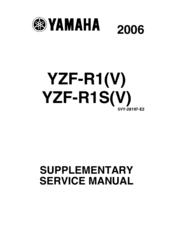 yamaha 2006 ysf r1 v manuals rh manualslib com 2005 R1 2006 yzf r1 service manual