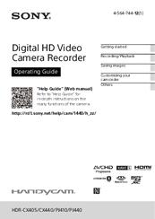 sony handycam hdr cx440 manuals rh manualslib com sony user manual cdp-ce375 sony user manuals