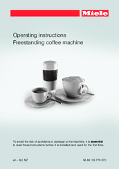 Miele CM 6300 Operating Instructions Manual