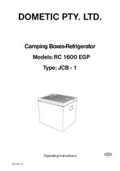 dometic rc 1600 egp manuals rh manualslib com Dometic RV Refrigerators Manuals Dometic RV Thermostat Manual