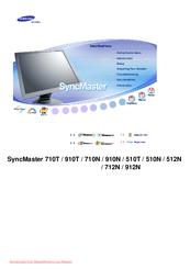 samsung 710n syncmaster 17 lcd monitor manuals rh manualslib com samsung syncmaster 710n service manual download samsung syncmaster 710n service manual pdf