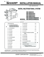 tkm mx 12 installation manual