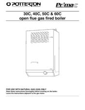 potterton prima 30c manuals rh manualslib com potterton prima user manual prima pappa diner user manual
