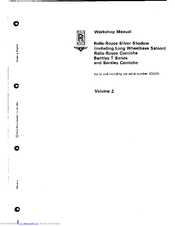 Repair manuals & literature for rolls-royce silver shadow ii   ebay.