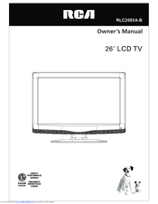 RCA RLC2685B Owner's Manual