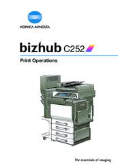 konica minolta bizhub c252 manuals rh manualslib com Konica Minolta Bizhub C3351 Konica Minolta Bizhub C3351