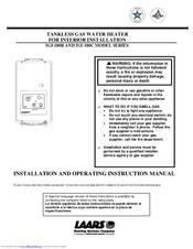 everhot tankless water heater manual