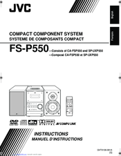 JVC FS-P550 Instructions For Use Manual