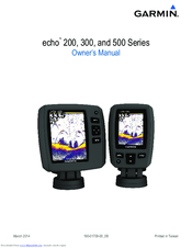 garmin echo 200 series manuals rh manualslib com Garmin Forerunner Garmin Foretrex 201