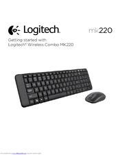 Logitech mk220 Getting Started