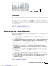 Cisco Nexus 5548UP Manuals