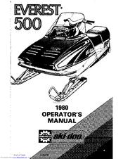 ski doo 1980 everest 500 manuals rh manualslib com Wii Ski We Ski and Snowboard