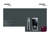 Siemens S65 User Manual