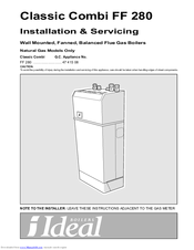 Wrg-4500] ideal mini boiler instruction manual | 2019 ebook library.