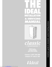 Ideal Boilers Classic Ff240 Installation And Servicing Manual