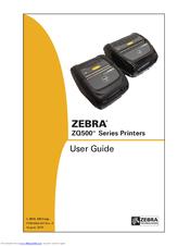 ZEBRA ZQ510 USER MANUAL Pdf Download
